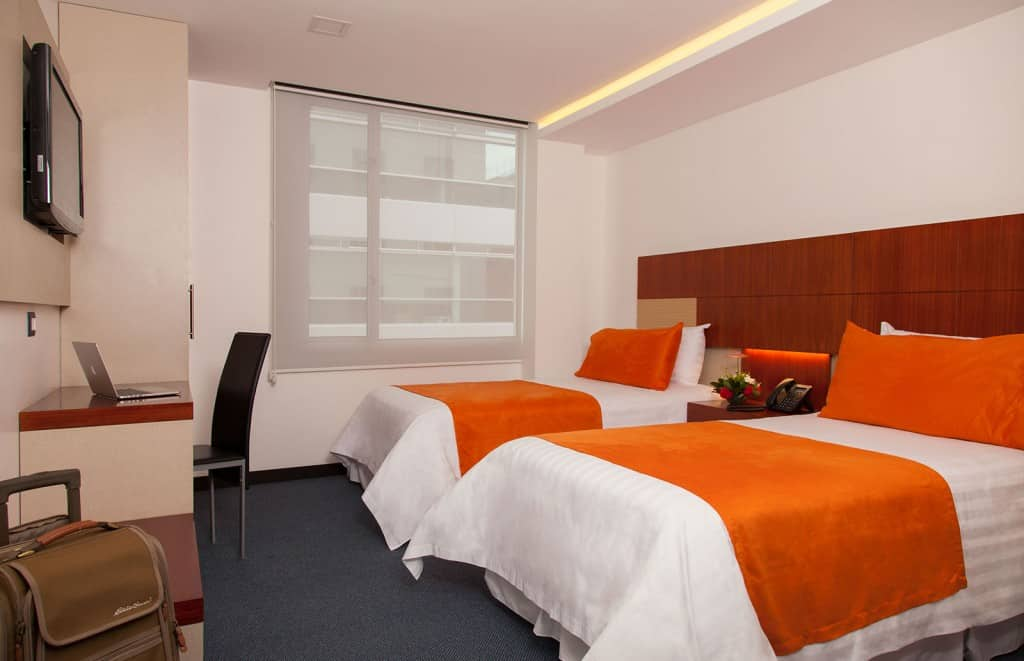 Double Room in Hotel Finlandia Quito